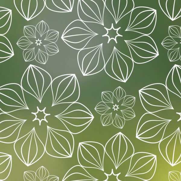 Blossom Patterned privacy Window Film