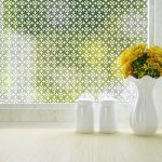 Fleur Froasted Window Film for Privacy
