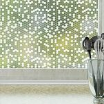 honeycomb frosted window film for privacy by odhams press