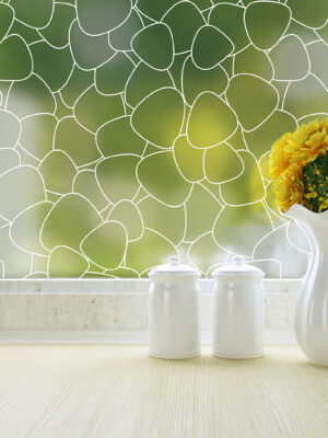 Pebbles Frosted Privacy Window Film