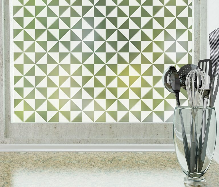 pinwheel pattern privacy window film frosted by odhams press